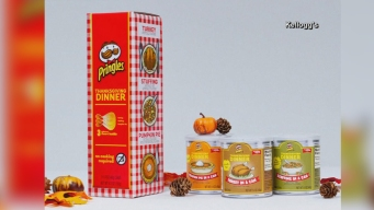 Pringles Sells Thanksgiving-Flavored Chips for Limited Time