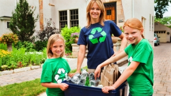 Teaching Kids to Recycle