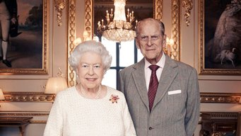 Queen Elizabeth, Prince Philip Celebrate 70th Anniversary