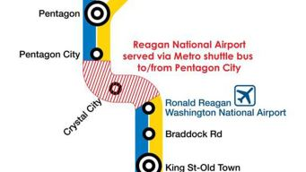Surge 4 Affects Metro Service to Airport, Pentagon City