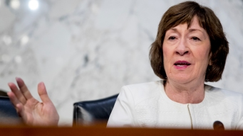 Collins Opposes a Nominee Who Would Overturn Abortion Ruling
