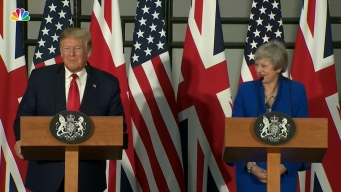 Full Press Conference: Donald Trump and Theresa May
