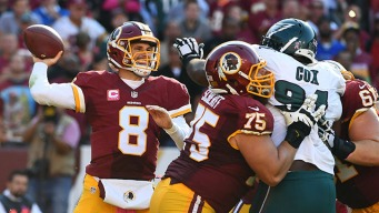 Redskins QB Cousins Signs Franchise Tag Contract