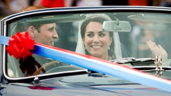 Royal Newlyweds Take a Spin
