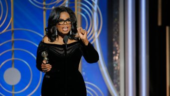 'Time's Up': Read Oprah Winfrey's Golden Globes Declaration