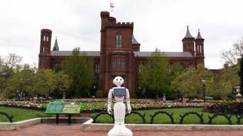 Robots at Smithsonians Will Answer Questions, Take Selfies