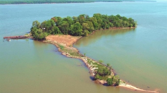 Piece of Paradise: Private Va. Island Hits Market for $15M