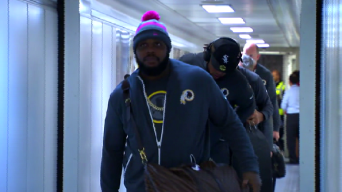 Redskins Arrive in London for Royal Road Trip