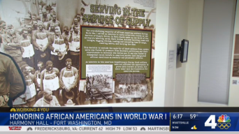 Md. Center Honors African Americans Who Served in WWI