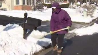77-Year-Old Woman Shovels for Prince George's Co. Neighbors