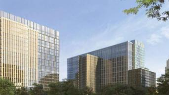 A First Look at Amazon HQ2 Construction Plans