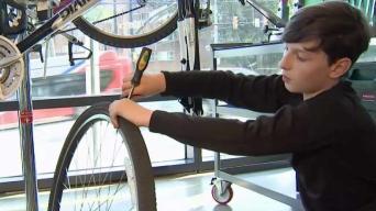 Arlington Program Teaches Kids How to Rebuild Bikes