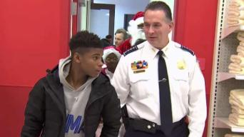 DC Police Chief Takes Slain Girl's Brother Holiday Shopping