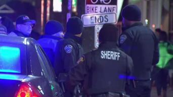 Extra Police Patrol Clarendon as Crowds Celebrate St. Patrick's Day