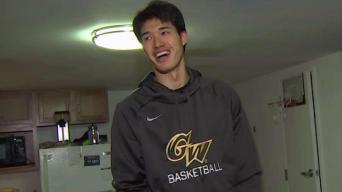 GW's Men's Basketball MVP Finds His Comfort Zone