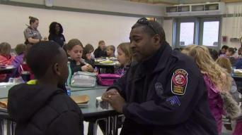 Lunch With a Cop Introduces Children to Officers