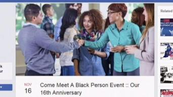 Talk Around Town: Come Meet a Black Person