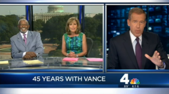 Brian Williams' Hilarious Tribute to Jim Vance