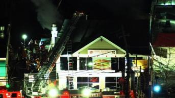 Firefighters Battle Fire at Takoma Park Restaurant