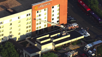 1 Dead After Hotel Fire in Capitol Heights