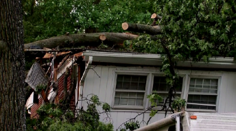 Tornado Hit Silver Spring During Monday's Severe Storms