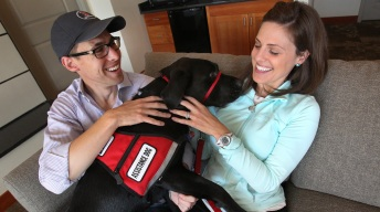 Couple Injured in Marathon Bombing Excited for Service Dog