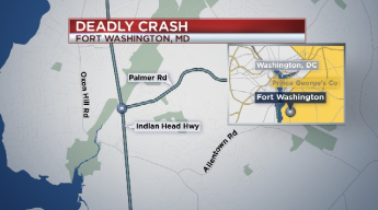 One Dead After Early Morning Crash in Prince George's County
