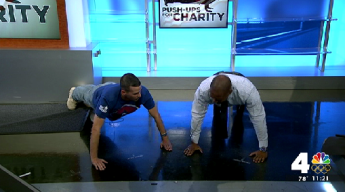 'Push-Up Challenge' Helps Vets, Service Members