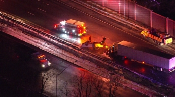 Massive Delays, Miles of Traffic on Outer Loop After Crash