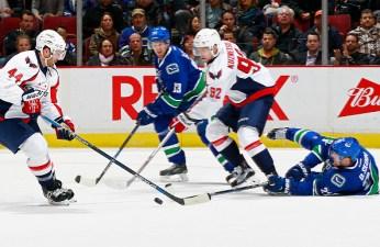 Kuznetsov Scores 3; Caps Top Oilers, 7-4