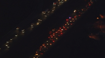 Miles-Long Backup Clearing After Truck Crash on I-95
