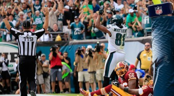 Redskins Lose 37-34 Shootout With Eagles