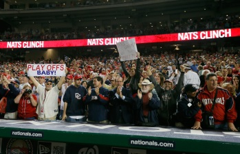 Nats To Sell Standing Room Only Playoff Tickets