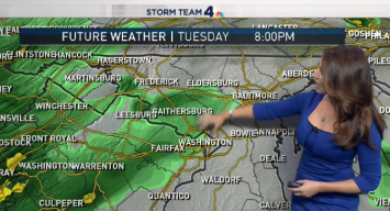 Rain Continues to Soak DC Area; Thunderstorms Expected Wed.