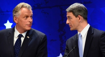 Poll: McAuliffe Holds Double Digit Lead Over Cuccinelli