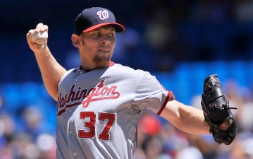 Strasburg Breaks Long D.C. Drought