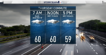 Rain, Chilly Temps Expected in DC Area for Next Few Days