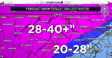 Storm Team4's Winter Weather Outlook