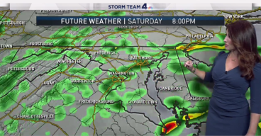 Stormy Start to Labor Day Weekend; Will Clear Up by Sunday