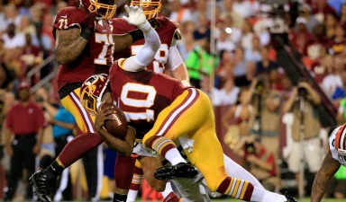 RGIII Still Can't Slide