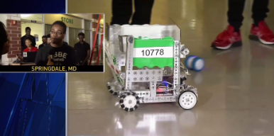Students Learn STEM By Building Robots