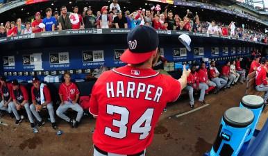 Harper 'Desecrates' Braves' Logo