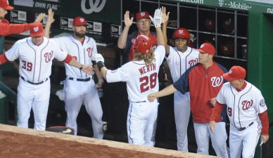 Nats Have Largest Lead in Franchise History