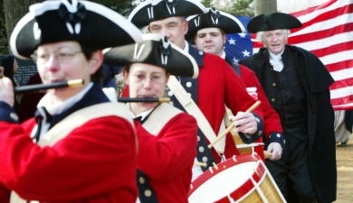 Monday: George Washington's Birthday Parade
