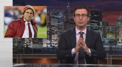 John Oliver Joins Redskins Name Debate