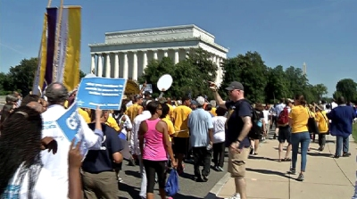Scenes From #JusticeSummer's Arrival in D.C.