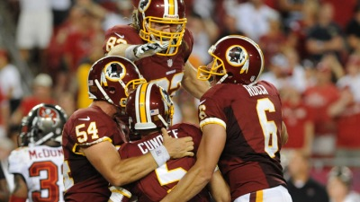 Redskins Will Not Try Out Kickers