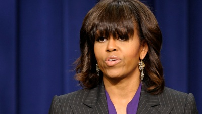Michelle Obama Campaigns for McAuliffe in Virginia