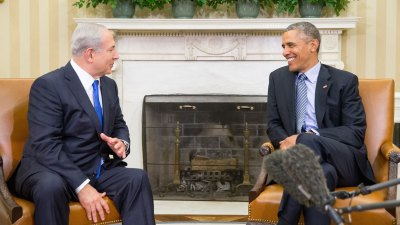 Obama, Netanyahu Emphasize Need for Mideast Peace
