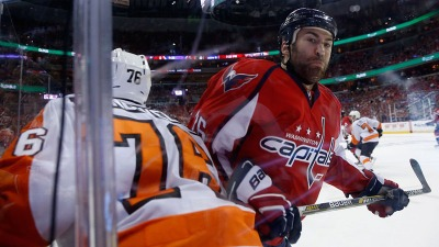 Capitals Lose to Flyers 2-0 in Game 5